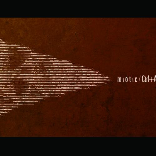 Miotic Album copertina Ascii
